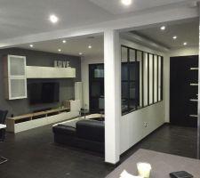 changement du meuble tv