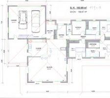 le plan de notre future maison