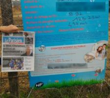 affichage panneau pc