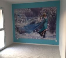 Chambre reine des neiges terminée!!!