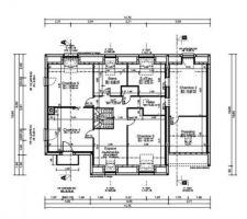 Plan modifié etage