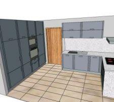 Nouveaux plan de la cuisine