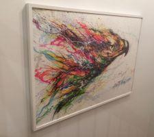 cage d escalier tableau ikea street art 2015
