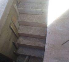 Escalier sous sol