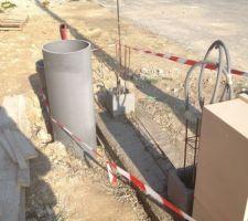 2015/10/11: Travaux pour le portillon