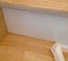 l escalier vitrificateur blanc ok 5 passes je retiens mon souffle c est le moment d enlever les scotch