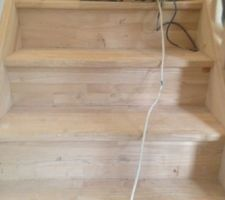 poncage de l escalier