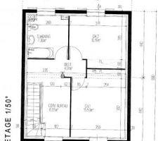 Etage 1 Alpine Maison Pierre 2 chambes 1 SDB