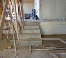 Mini escalier intérieur rez de chaussée