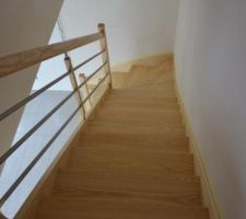 escalier vitrifie
