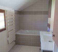 Salle de bains terminée
