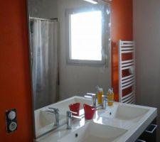 fin d installation du meuble salle d eau