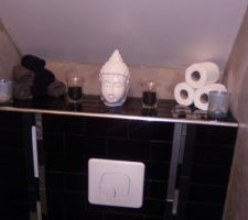 toilette suspendus esprit zen
