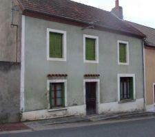 facade de la maison en novembre 2012 apres acquisition
