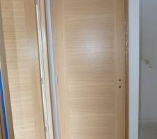 Porte Etna placage chêne de la marque Menuiserie d'Olt