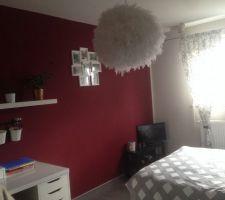 Au bout d 1 an .... Voilà enfin une chambre complètement finie !!!