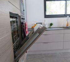 Lave-vaisselle en hauteur