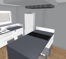 quelques changements dans la cuisine