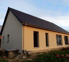 facade ouest pignon nord