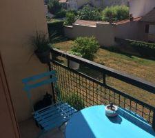 le balcon sans toutes ses plantes