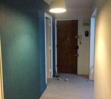 le couloir ultra minimaliste