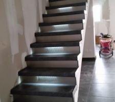 Voila escalier fini