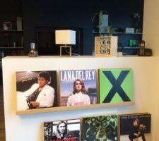 petite installation pour les vinyls