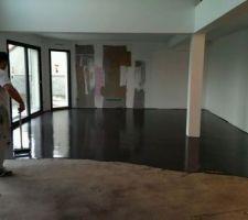 Realisation du beton cire