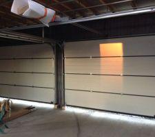 Portes de garage Hormann - vue intérieure