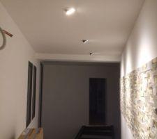 essai eclairage couloir de l etage