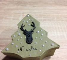 Boîtes cadeaux d'assiettes pour les invités du 24/12