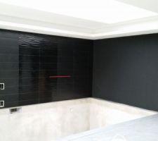 Carrelage mur piscine