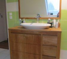 Salle de bain apres 1 an 1/2 d'utilisation