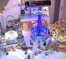 Village de Noël terminé