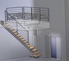 3d escalier