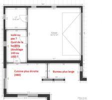 modifs plans interieurs cuisine bureau