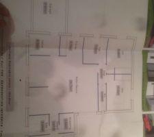 plan de maison plan en t