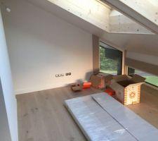 parquet mezzanine