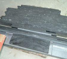tablette granit interieur et exterieur couleur nero impala