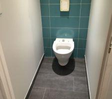 Le wc suspendu (étage)