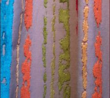 Tissu pour les rideaux de notre chambre