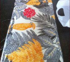 Tissu pour les rideaux du bureau