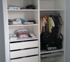 Le dressing made by Castorama