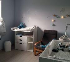 la chambre de notre futur petit bout