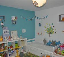 La chambre de bébé a évolué, il a bientot 2 ans