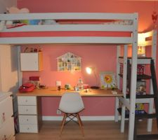 la nouvelle deco de chambre de notre fille de 6 ans