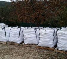 les bigs bags de paves