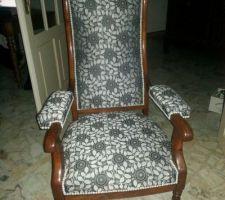 fauteuil regarni