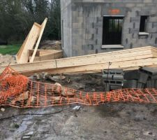livraison bâti  de la toiture