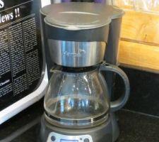Une bonne vieille machine à café